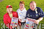 Bernadette Brosan, Joan Grady and Sean Mahony get ready for the annual family fun day to be held this bank holiday Monday in Mountcollins.