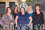 HEN PARTY: Noelle O'Connor, Gallows Field, Tralee having fun at her 2nd Hen Party at the Bella Bia restaurant, Tralee on Friday l-r: Helen Slattery, Doreen Turner, Noelle O'Connor, Denise Drumm and Kathleen O'Connor.