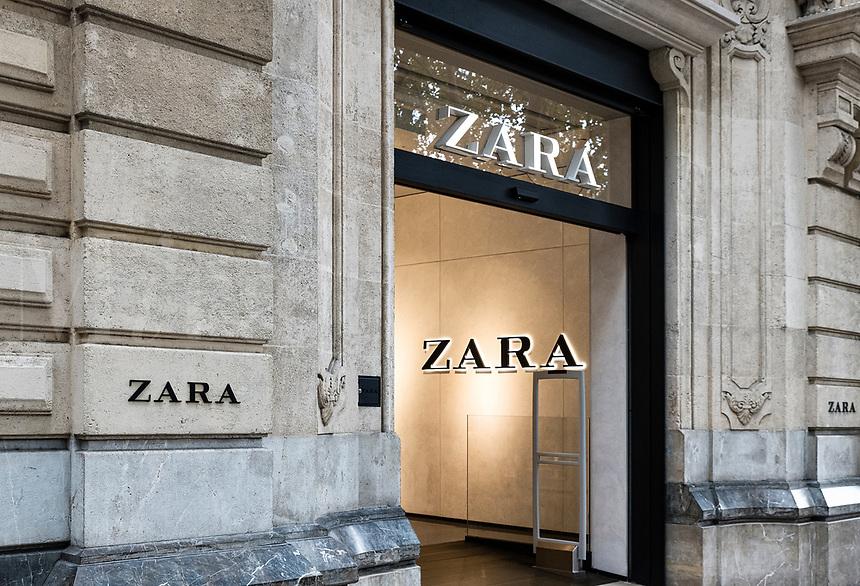 Zara department store, Pallma, Spain.