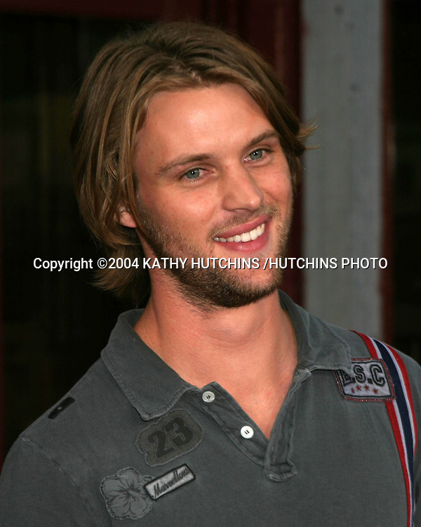 ©2004 KATHY HUTCHINS /HUTCHINS PHOTO.FOX TV TCA PARTY.TWENTHIETH CENTURY FOX LOT.CENTURY CITY, CA.JULY 16, 2004..JESSE SPENCER