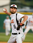 WATERBURY, CT-080317JS10-- Watertown's Matt Quintana (6) pitched a one-hit shut out during their opening round game against Bourne Mariners of Cape Cod in the Stan Musial East Coast World Series Thursday at Municipal Stadium in Waterbury. <br /> Jim Shannon Republican-American