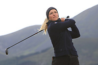 Romy Meekers (NED) on the 2nd tee during Round 2 of the Women's Amateur Championship at Royal County Down Golf Club in Newcastle Co. Down on Wednesday 12th June 2019.<br /> Picture:  Thos Caffrey / www.golffile.ie