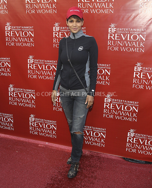 ACEPIXS.COM<br /> <br /> May 10 2014, LA<br /> <br /> Actress Halle Berry at the 21st Annual EIF Revlon Run Walk For Women at the Los Angeles Memorial Coliseum on May 10, 2014 in Los Angeles, California<br /> <br /> <br /> By Line: Nancy Rivera/ACE Pictures<br /> <br /> ACE Pictures, Inc.<br /> www.acepixs.com<br /> Email: info@acepixs.com<br /> Tel: 646 769 0430