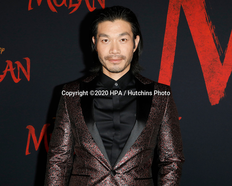 """LOS ANGELES - MAR 9:  Nelson Lee at the """"Mulan"""" Premiere at the Dolby Theater on March 9, 2020 in Los Angeles, CA"""