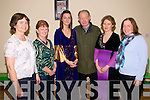 Comhaltas Tour Of Ireland : Attendending the Comhaltas Tour of Ireland Concert held in The Ceoilin Centre in Lixnaw on Thursday night last Liz O'Keeffe, Bridie Stack,concert participant  Roisin Ryan, Dromid, Waterville, Rory Sweeney, Ballybunion whose brother Dr. Mick Sweeney was a founder member of Comhaltas, concert participant Maura Walsh, Lixnaw and Bridget Walsh.