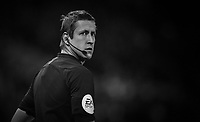 Referee John Brooks<br /> <br /> Photographer Dave Howarth/CameraSport<br /> <br /> The EFL Sky Bet Championship - Stoke City v Preston North End - Wednesday 12th February 2020 - bet365 Stadium - Stoke-on-Trent <br /> <br /> World Copyright © 2020 CameraSport. All rights reserved. 43 Linden Ave. Countesthorpe. Leicester. England. LE8 5PG - Tel: +44 (0) 116 277 4147 - admin@camerasport.com - www.camerasport.com