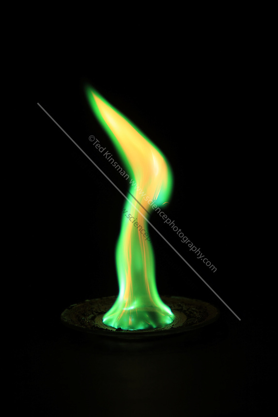 Copper ii chloride flame test sciencephotography