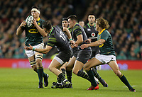 Saturday 11th November 2017; Ireland vs South Africa<br /> Francois Louw during the Guinness Autumn Series between Ireland and South Africa at the Aviva Stadium, Lansdowne Road, Dublin, Ireland.  Photo by DICKSONDIGITAL