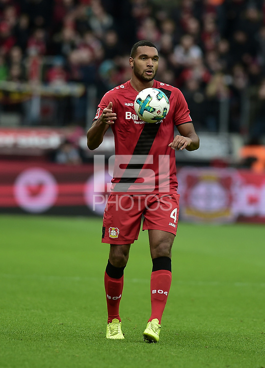 Football : Germany -1. Bundesliga  2017/18 <br /> Bayer Leverkusen 04 vs Mainz <br /> 28/01/2018 - Jonathan Tah (Bayer 04 Leverkusen) *** Local Caption *** &copy; pixathlon<br /> Contact: +49-40-22 63 02 60 , info@pixathlon.de