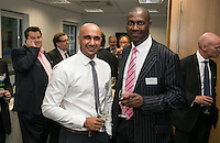 Sunny Landa (left) of NG Chartered Surveyors and Larick Walker of Handelsbanken