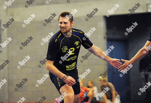 2014-08-30 / Volleybal / seizoen 2014-2015 / Amigos Zoersel / Roel Nuyts<br /><br />Foto: Mpics.be