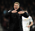 Bournemouth Manager Eddie Howe<br /> - Barclays Premier League - Bournemouth vs Manchester United - Vitality Stadium - Bournemouth - England - 12th December 2015 - Pic Robin Parker/Sportimage