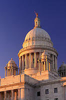 State House, State Capitol, Providence, Rhode Island, RI, The Rhode Island State House in the Capital City of Providence.