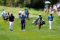 Hideto Tanihara (JPN) and Thomas Aiken (RSA) during the 3rd round at the Nedbank Golf Challenge hosted by Gary Player,  Gary Player country Club, Sun City, Rustenburg, South Africa. 10/11/2018 <br /> Picture: Golffile | Tyrone Winfield<br /> <br /> <br /> All photo usage must carry mandatory copyright credit (&copy; Golffile | Tyrone Winfield)