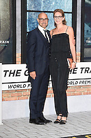 Tanley Tucci and wife, Felicity Blunt<br /> at the premiere of &quot;The Girl on the Train&quot;, Odeon Leicester Square, London.<br /> <br /> <br /> &copy;Ash Knotek  D3156  20/09/2016