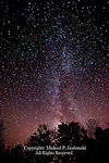 Milky Way, Pocono Mountains, Pennsylvania
