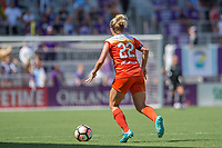Orlando, FL - Saturday June 24, 2017: Camille Levin  during a regular season National Women's Soccer League (NWSL) match between the Orlando Pride and the Houston Dash at Orlando City Stadium.