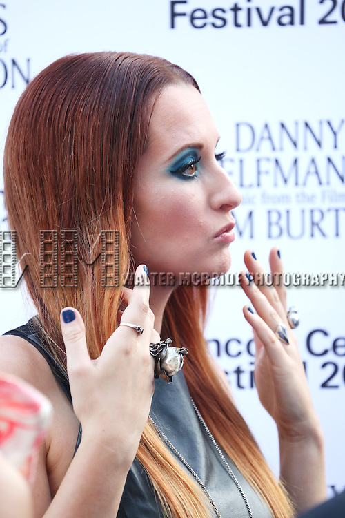 Ingrid Michaelson attends the 'Danny Elfman's Music From The Films Of Tim Burton' - 2015 Lincoln Center Festival Opening Night at Josie Robertson Plaza at Lincoln Center on July 6, 2015 in New York City.