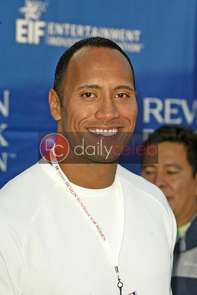 "Dwayne ""The Rock"" Johnson <br /> at the 12th Annual Revlon Run/Walk For Women Los Angeles, Los Angeles Memorial Coliseum, Los Angeles, CA, 05-07-05<br /> Jason Kirk/DailyCeleb.com 818-249-4998"