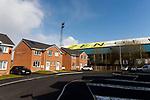 A housing development next to  Boundary Park, also called  Boundary Park. Oldham v Portsmouth League 1