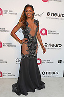 WEST HOLLYWOOD, CA - MARCH 2: Melanie Brown attending the 22nd Annual Elton John AIDS Foundation Academy Awards Viewing/After Party in West Hollywood, California on March 2nd, 2014. Photo Credit: SP1/Starlitepics. /NORTePHOTO
