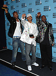 Bones Thugs-N-Harmony at the 2007 American Music Awards press room held at the Nokia Theatre Los  Angeles, Ca. November 18, 2007.  Fitzroy Barrett