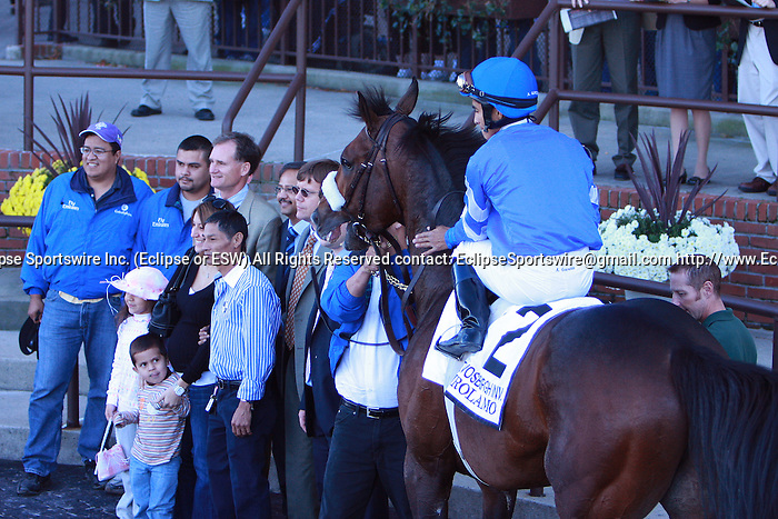 10 02 2010: Girolamo with Alan Garcia up wins the Grade I Vosburgh Invitational, at 6 furlongs, 3-year olds & up, Belmont Park, Elmont, NY. Trainer Saeed bin Suroor.  Owners Godolphin Stables