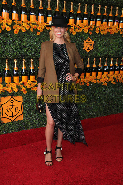 PACIFIC PALISADES, CA - OCTOBER 17: January Jones at the Sixth-Annual Veuve Clicquot Polo Classic at Will Rogers State Historic Park in  Pacific Palisades, California on October 17, 2015. <br /> CAP/MPI//DE<br /> &copy;DE/MPI/Capital Pictures