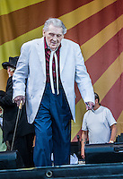 Jerry Lee Lewis at the New Orleans Jazz and Heritage Festival on May 2, 2015.