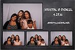 Krystal & Denzil Wedding Photo Booth 4/29/16