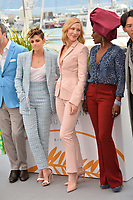 Kristen Stewart, Cate Blanchett &amp; Khadja Nin at the photocall for the Cannes Jury at the 71st Festival de Cannes, Cannes, France 08 May 2018<br /> Picture: Paul Smith/Featureflash/SilverHub 0208 004 5359 sales@silverhubmedia.com