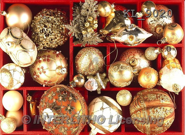 Interlitho-Alberto, CHRISTMAS SYMBOLS, WEIHNACHTEN SYMBOLE, NAVIDAD SÍMBOLOS, photos+++++,balls, gold,KL9020,#XX#