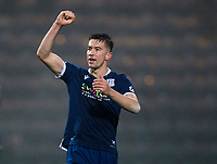 1st November 2019; Dens Park, Dundee, Scotland; Scottish Championship Football, Dundee Football Club versus Greenock Morton; Cammy Kerr of Dundee celebrates at the end of the match  - Editorial Use