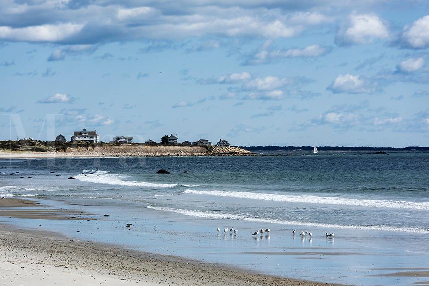 South Shore Beach, Little Compton, Rhode Island, USA.