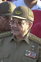 Raul Castro Ruz, Minister of the Armed Forces and brother of Fidel Castro. January 24, 2000.  Credit: Jorge Rey/MediaPunch