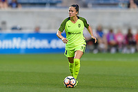 Bridgeview, IL - Wednesday August 16, 2017: Lauren Barnes during a regular season National Women's Soccer League (NWSL) match between the Chicago Red Stars and the Seattle Reign FC at Toyota Park. The Seattle Reign FC won 2-1.