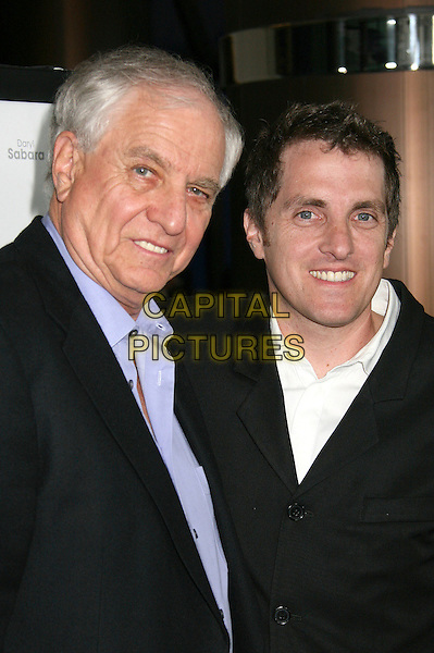 """GARRY MARSHALL & SCOTT MARSHALL.Los Angeles Premiere of """"Keeping Up With The Steins"""", West Hollywood, California, USA..May 8th, 2006.Photo: Byron Purvis/AdMedia/Capital Pictures.Ref: BP/ADM.headshot portrait father son family.www.capitalpictures.com.sales@capitalpictures.com.© Capital Pictures."""