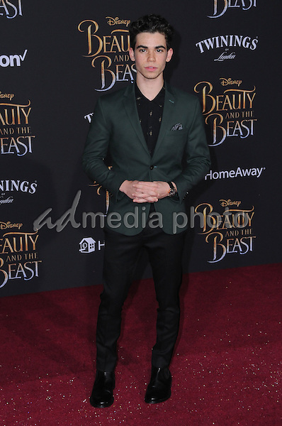 "02 March 2017 - Hollywood, California - Cameron Boyce. Los Angeles premiere of Disney's ""Beauty and the Beast' held at El Capitan Theatre. Photo Credit: Birdie Thompson/AdMedia"