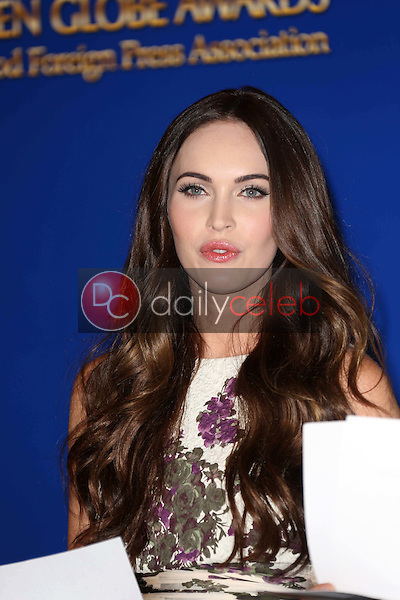 Megan Fox<br /> at the 70th Annual Golden Globe Awards Nominations Announcement,  Beverly Hilton, Beverly Hills, CA 12-13-12<br /> David Edwards/DailyCeleb.com 818-249-4998