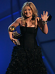 Kelly Clarkson won the Grammy for Best Female Pop Vocal Performance at the 48th Annual Grammy Awards at the Staples Center in Los Angeles, California on Wednesday February 08, 2006. -- PHOTO CREDIT: Richard Hartog/Los Angeles Times