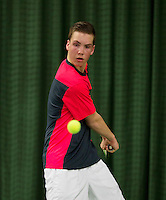March 13, 2015, Netherlands, Rotterdam, TC Victoria, NOJK, Stijn Janssen (NED)<br /> Photo: Tennisimages/Henk Koster