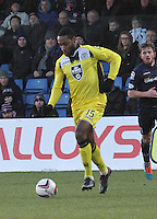 Yoann Arquin in the Ross County v St Mirren Scottish Professional Football League match played at the Global Energy Stadium, Dingwall on 17.1.15.