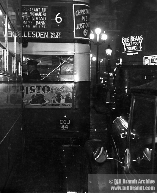 The Night Bus to Peckham 1930s