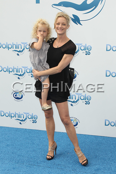 """BAYLEY WOLLAM, TERI POLO. World Premiere of Alcon Entertainment's """"Dolphin Tale,"""" at the Village Theatre in Westwood. Los Angeles, CA, USA. September 17, 2011. ©CelphImage."""