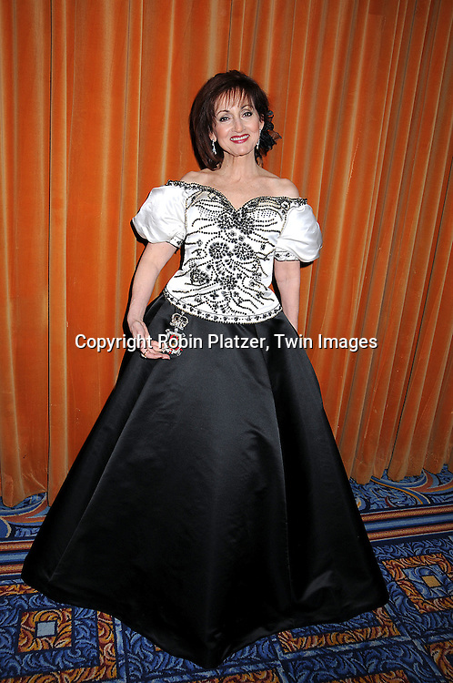 """Robin Strasser in dress by Vivaldi Boutique, who is on .One Life to Live"""".at The Night of 1000 Gowns Gala on March 29, 2008.at The Marriott Marquis in New York City. The gala benefits.ACRIA( Aids Community Research Initiative of America) and .Bailey House..Robin Platzer, Twin Images"""
