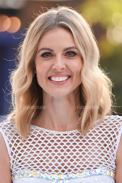 Donna Air at the &quot;Dancing on Ice&quot; launch photocall at the Natural History Museum, London, UK. <br /> 19 December  2017<br /> Picture: Steve Vas/Featureflash/SilverHub 0208 004 5359 sales@silverhubmedia.com