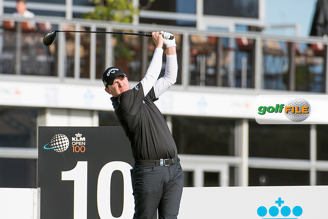 James Morrison (ENG) in action on the 10th hole during the 2nd round at the KLM Open, The International, Amsterdam, Badhoevedorp, Netherlands. 13/09/19.<br /> Picture Stefano Di Maria / Golffile.ie<br /> <br /> All photo usage must carry mandatory copyright credit (© Golffile | Stefano Di Maria)
