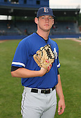 July 14th, 2007:  Nathan Nery of the Aberdeen Ironbirds, Class-A Short-Season affiliate of the Baltimore Orioles, poses for a photo before a game vs the Jamestown Jammers in New York-Penn League action.  Photo Copyright Mike Janes Photography 2007.