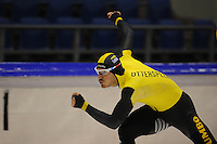 SCHAATSEN: HEERENVEEN: IJsstadion Thialf, 05-02-15, Training World Cup, Hein Otterspeer, ©foto Martin de Jong