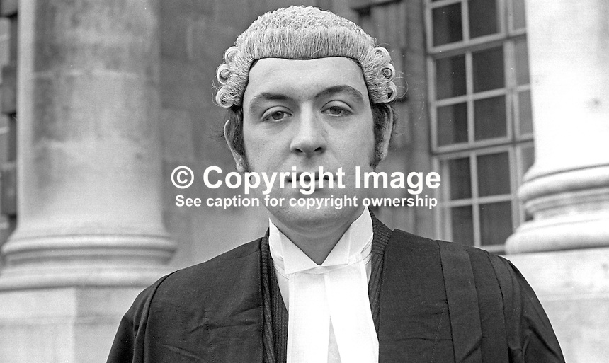 Christopher William Milner, barrister, N Ireland, November 1971, 197111000472<br />